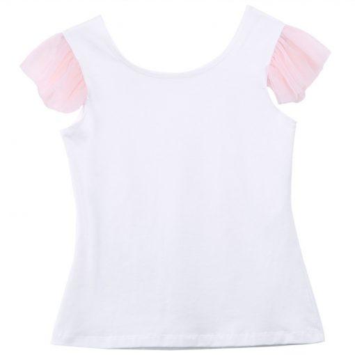 Lovely T-shirt + tutu Skirt Mother Daughter Dresses for Summer Wear 5