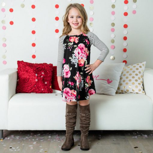 New Mother Daughter Dress Summer Casual Family Clothes 2018 4