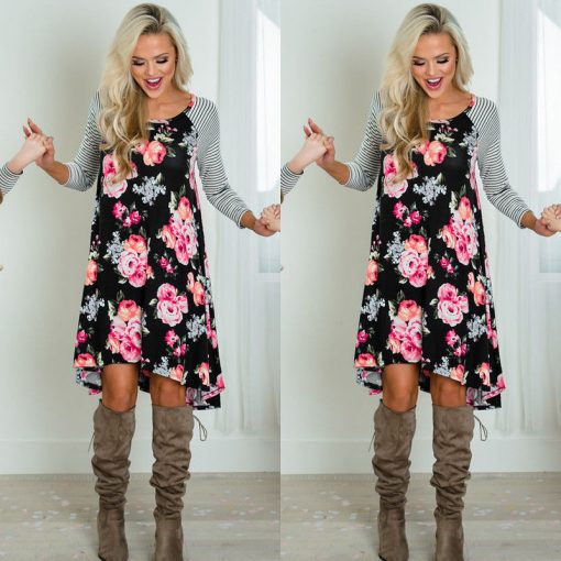 New Mother Daughter Dress Summer Casual Family Clothes 2018 2