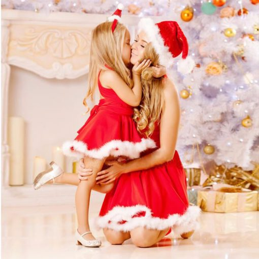Appealing Mother Daughter Christmas Matching Outfit 1