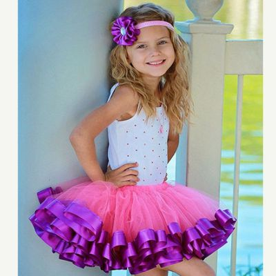 Casual Fluffy Tutu Skirts for Girls 1