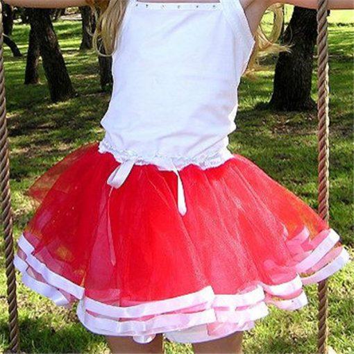 Pink Summer Cute Tutu Skirt for Baby Girls 4