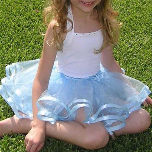 Pink Summer Cute Tutu Skirt for Baby Girls 1