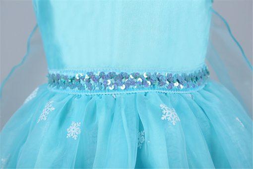 Wedding Party Long Snowflake Princess Tutu Dress 3
