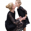 Mother Daughter Lace Dresses Family Matching Clothes 5