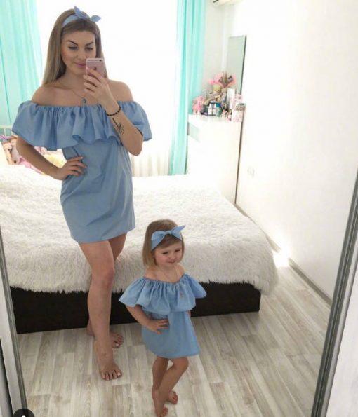 Family Set Mother & Daughter Dress for Festivals 7