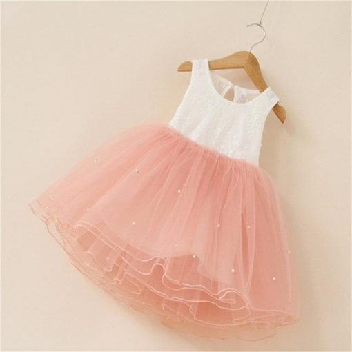 Tutu Flower Dress Fluffy Wedding Gown  for Infant 7