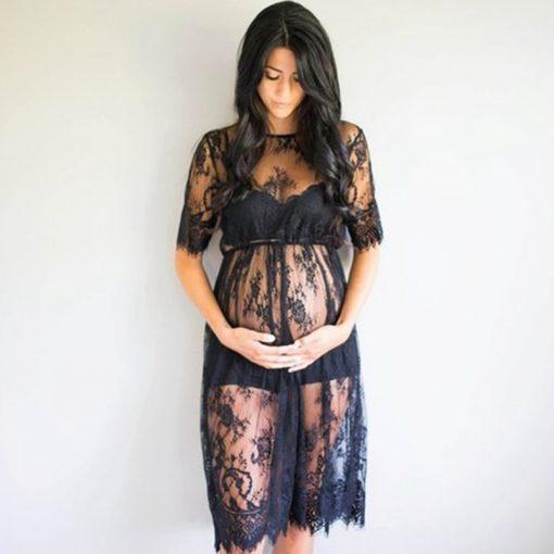 Summer Maternity Women Dress for Pregnant Women 1