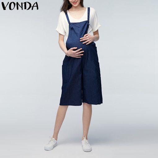 New Pregnant Women Mini A-line Dress Summer 2018 5