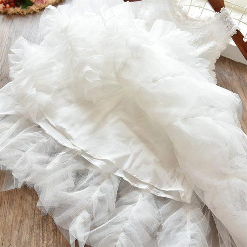 Fluffy Cake Smash Christmas Dress for Girl 3