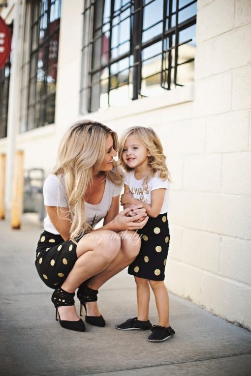 Mother and Daughter Matching Spring Skirt 3
