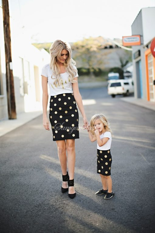 Mother and Daughter Matching Spring Skirt 2