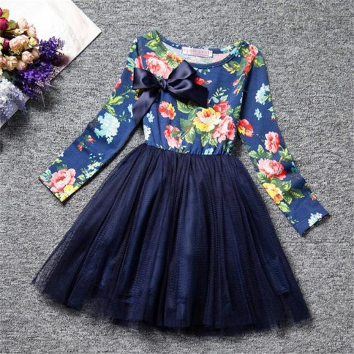 Tutu Flower Dress Fluffy Wedding Gown  for Infant 3
