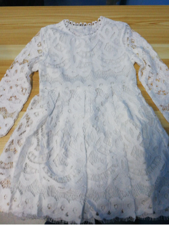 Mother Daughter Lace Dresses Family Matching Clothes 3
