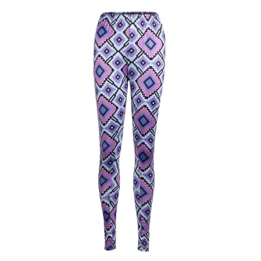 Mommy and Me Matching Geometric Print leggings 2