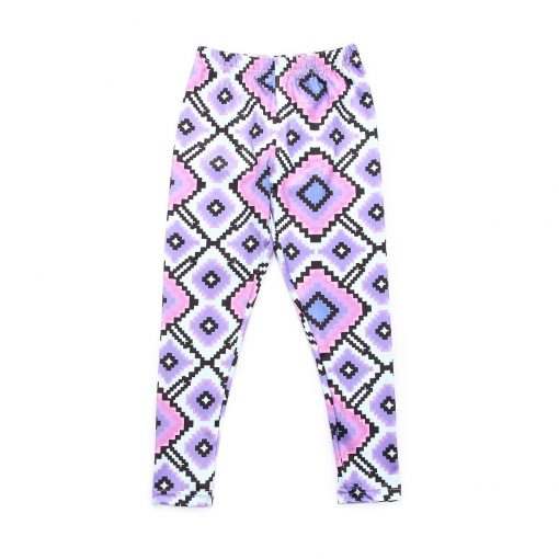 Mommy and Me Matching Geometric Print leggings 3