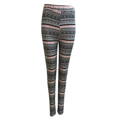 Mother and Daughter Tribal Print Leggings 3