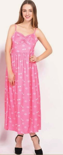 Casual Mother and Daughter Matching Maxi Dresses 5