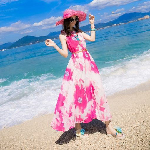 Breezy Matching Floral Maxi Dress for Mother and Daughter 3