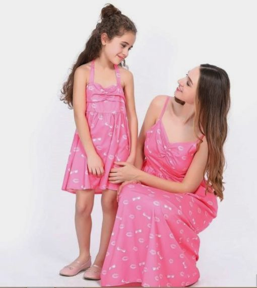 Casual Mother and Daughter Matching Maxi Dresses 2
