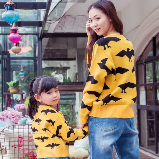 Classic Matching Sweater for Mommy and Daughter 3