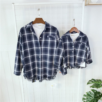 Classic Matching Shirt for Mother and Daughter 1