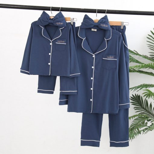 Cute Pajamas For Mother and Daughter 1