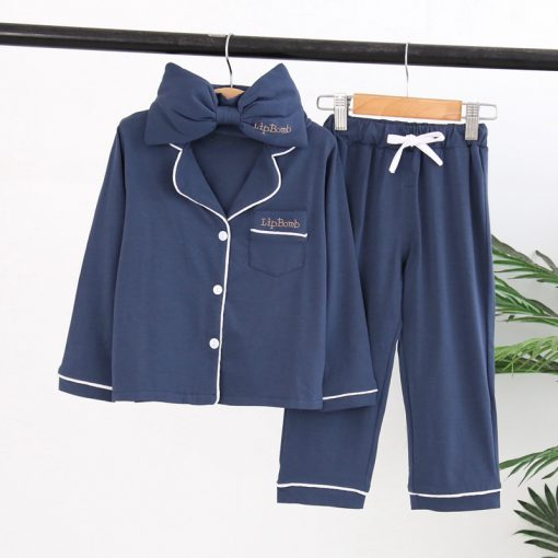 Cute Pajamas For Mother and Daughter 2