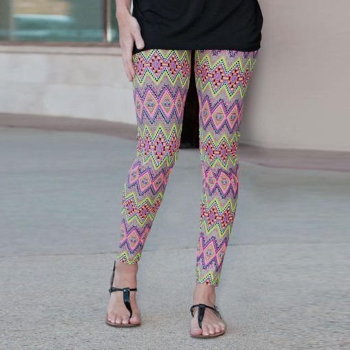 Mother and Daughter Matching Leggings 4