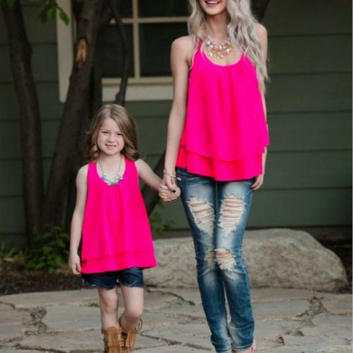 Classic Tops for Mother and Daughter 1