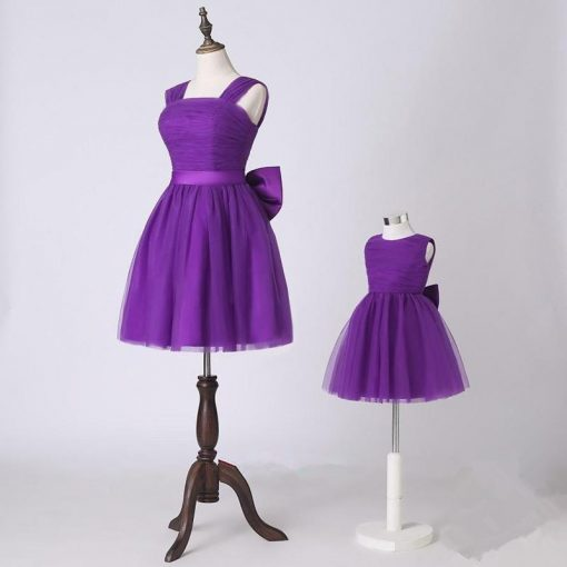 Mother and Daughter Matching Tutu Skirt Dress 2