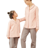 Graceful Mother and Daughter Matching Pajamas 4