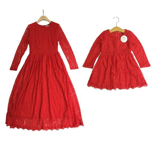 Trendy Mother and Daughter Matching Dress 4