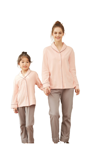 Graceful Mother and Daughter Matching Pajamas 1