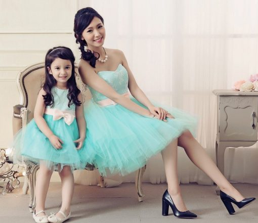 Mother and Daughter Matching Tutu Dress 1