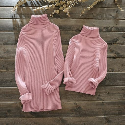 Sweet and soft Matching Sweater for Mother and Daughter 1