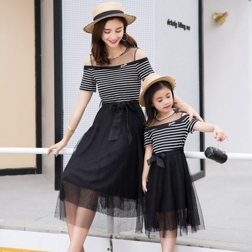 Cute Mother and Daughter Matching Skirts 2