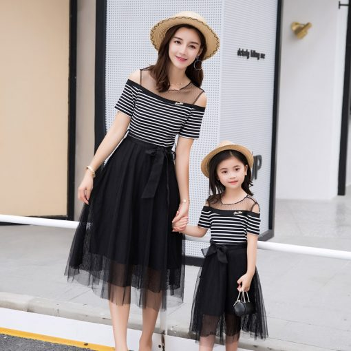 Cute Mother and Daughter Matching Skirts 1