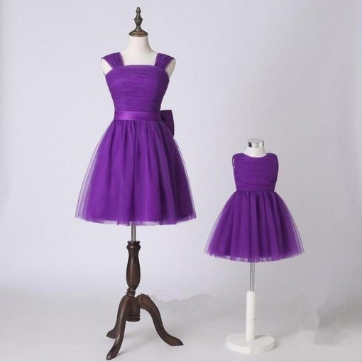 Mother and Daughter Matching Tutu Skirt Dress 1