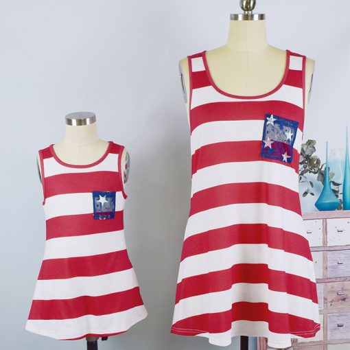 Cute Matching Tops  for Mother and Daughter 3