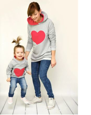 Adorable Mommy and Me Sweater with Perfect Hoodie 3