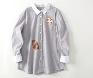 Cartoon Print Mother and Daughter Matching Shirt 2