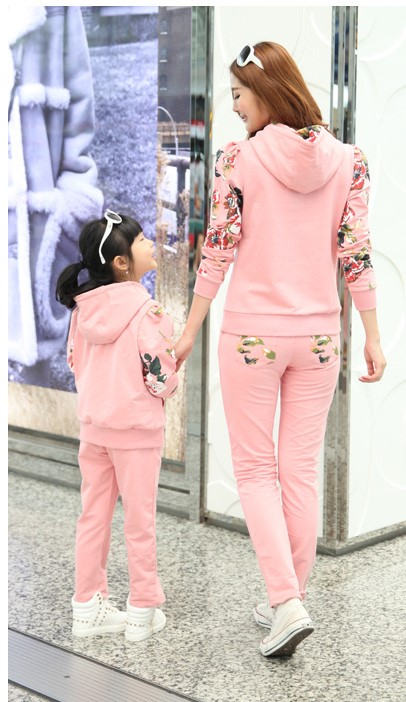 Mommy and Daughter Matching Outfit 2