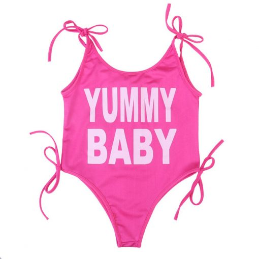 Pink Yummy Mommy and Me Swimwear 3
