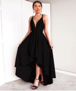 Tantalizing Draped Style Prom Dress