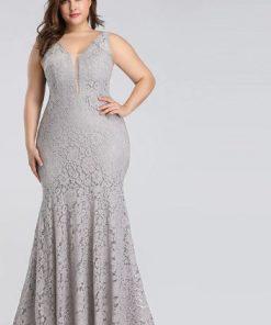 Fashion Chic Plus Size Prom Dress