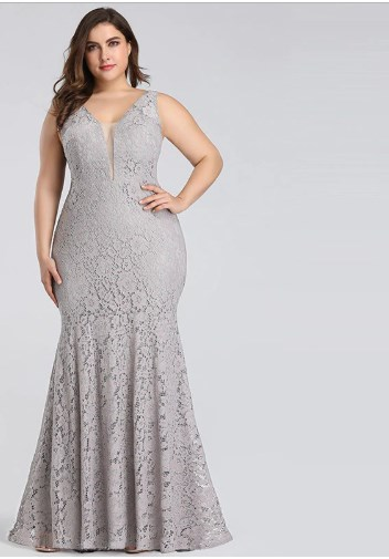 Fashion Chic Plus Size Prom Dress 1