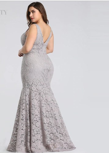 Fashion Chic Plus Size Prom Dress 2