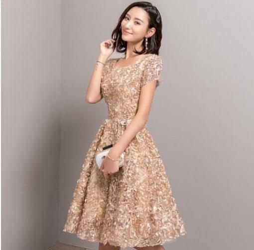Voguish Classy Knee-Length Prom Dress 1