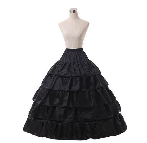 Wedding Ball Gown Crinoline Bridal Skirt 1